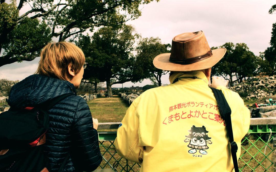 熊本城視察!ひろみ先生にインタビューしてきた。